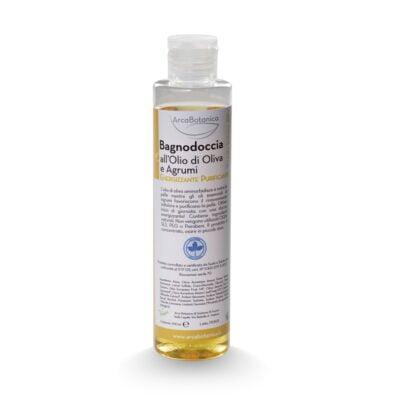 bagnodoccia olio di oliva e agrumi