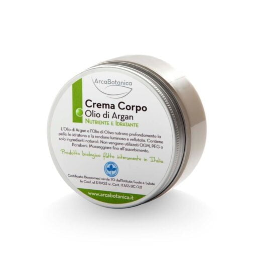 Crema corpo idratante olio di argan