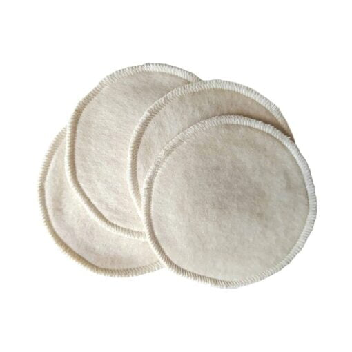 Confezione 4 minipad riutilizzabili per il viso
